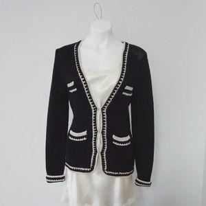 "Trina Turk ""Chanel style"" knit jacket"